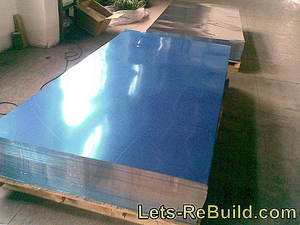 Polish aluminum sheet