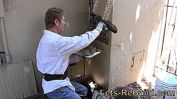 Repair The Exterior Plaster Yourself - Step By Step Instructions