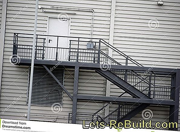 External staircase made of steel - prices and costs