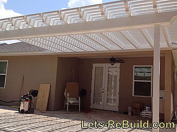 Build A Pergola Awning Yourself » Detailed Instructions