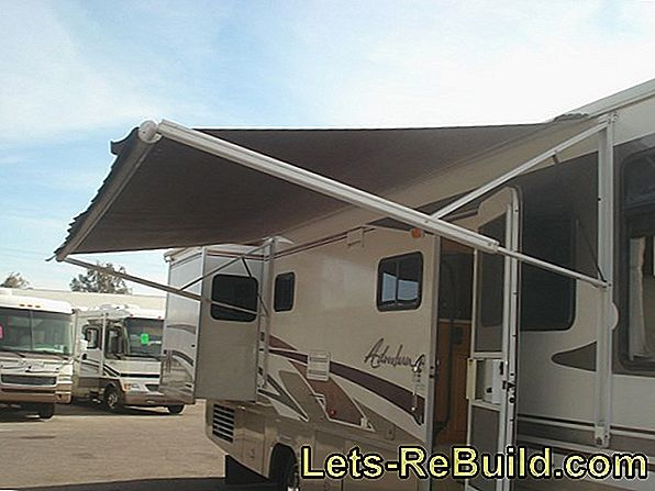 Awnings Trends 2019: Individual sun protection with a rope tensioning awning