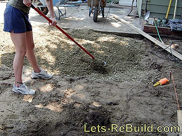 Prepare uneven floors of dry screed correctly