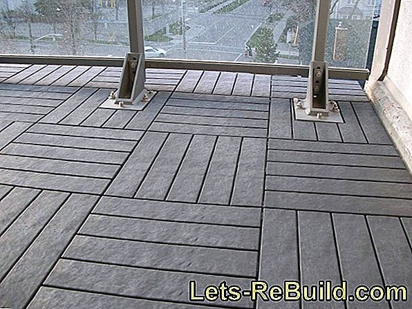 More than just tiles: design the balcony floor