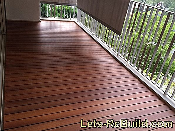 Get outside seat: Renovate the balcony floor in good time!