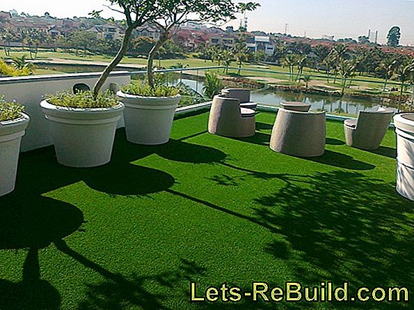 Artificial Turf For The Balcony And Terrace » That'S Something To Keep In Mind