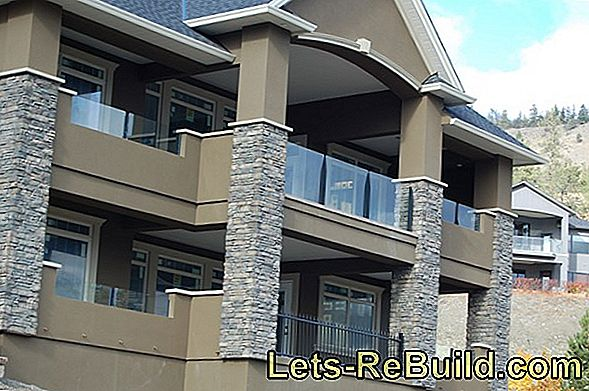Balcony Railings Made Of Stainless Steel & Glass » Prices & Cost Factors