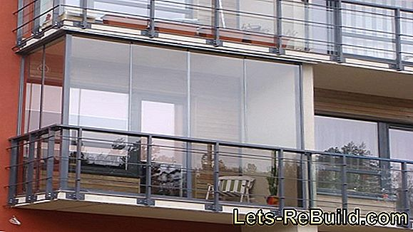Rain Protection For The Balcony » Possibilities & Regulations