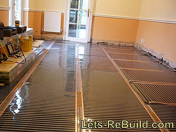 Bamboo parquet over a floor heating?