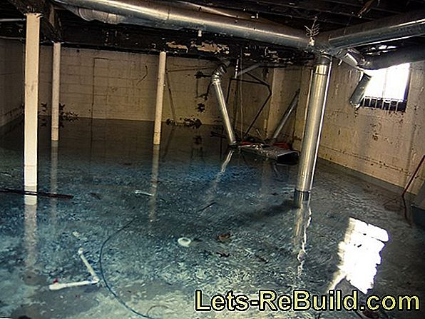Water damage in the basement - who pays for the renovation?