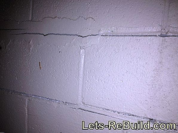 Horizontal Cellar Sealing » Step By Step Instructions