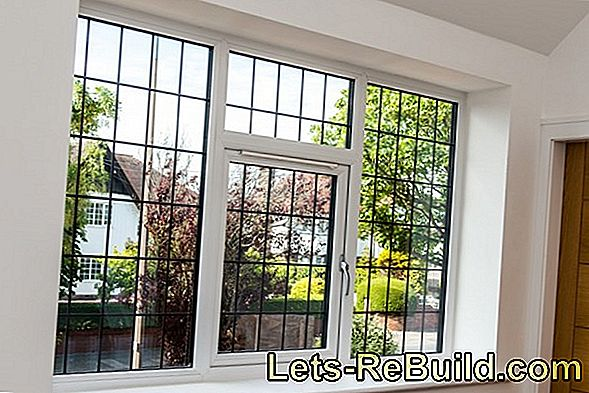 Perfect burglary protection: window grilles for cellar windows