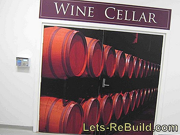 Cellar vault - ideal storage location