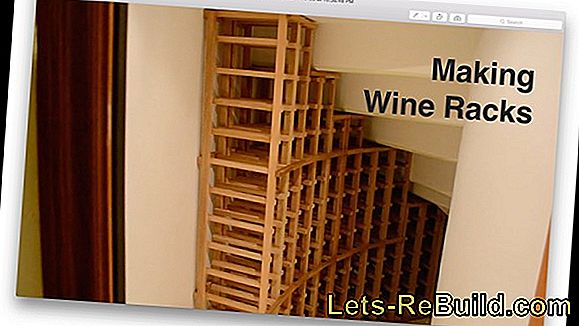 Build A Wine Rack Yourself