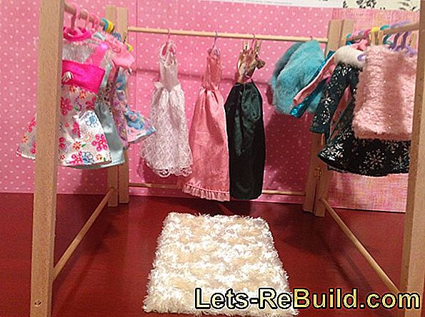 Making a bed - For a doll, as a gift or yourself