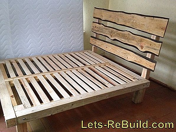 Bed Made Of Europallets » Build Yourself In 6 Steps