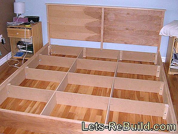 Build a bed yourself: It's easy