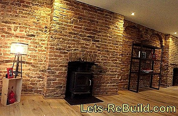 The brick interior wall - a style element