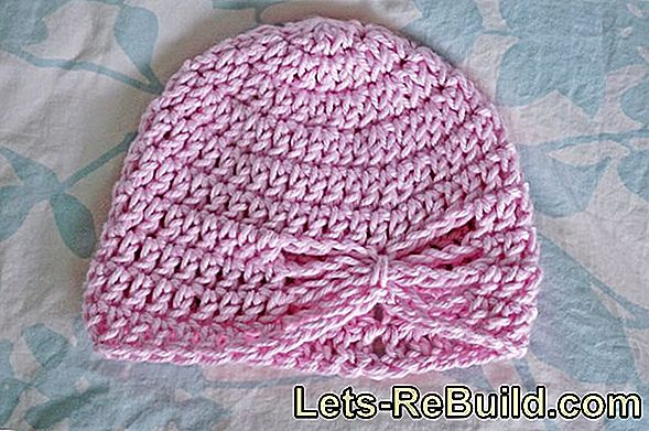 Crochet baby hat - instructions