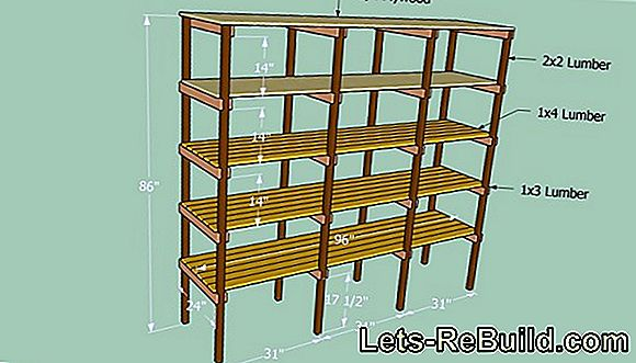 Construction Plans For Shelves