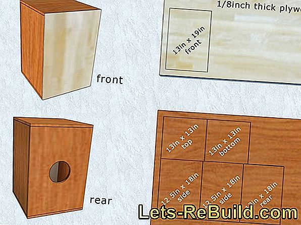 Cajón Building Instructions And Kits