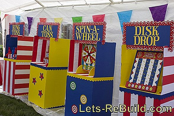 Make Carnival Decorations Yourself