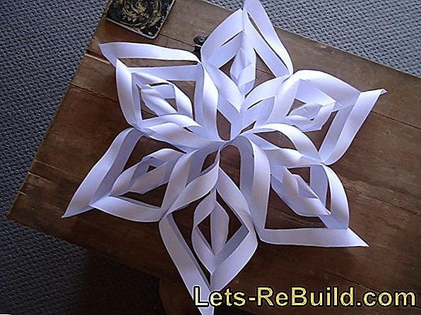 Make Christmas star