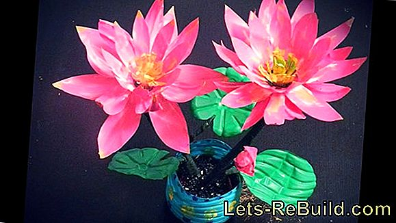 Handicraft Instructions For Flowers Made Of Different Materials