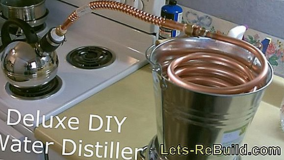 Make distilled water yourself