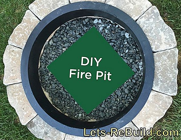 Build a fire pit yourself