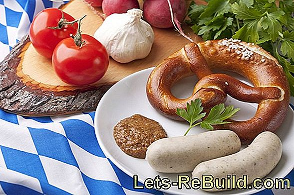 Oktoberfest Food: Recipes For Bavarian White Sausage, Pretzels And Cheese Noodles