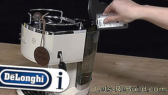 Descending Delonghi Coffee Machine » Detailed Instructions