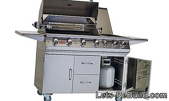 Gas Grill - Barbecue With Gas On Gas Barbecues
