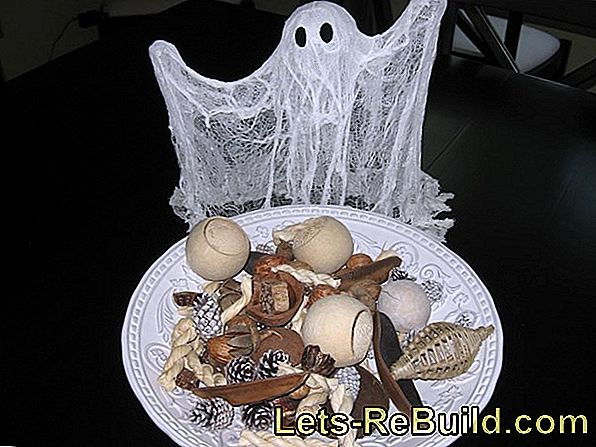 Make Ghost - Make Ghost For The Halloween Decoration Itself