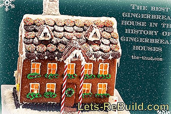 Gingerbread House Instructions - Making Gingerbread House Yourself