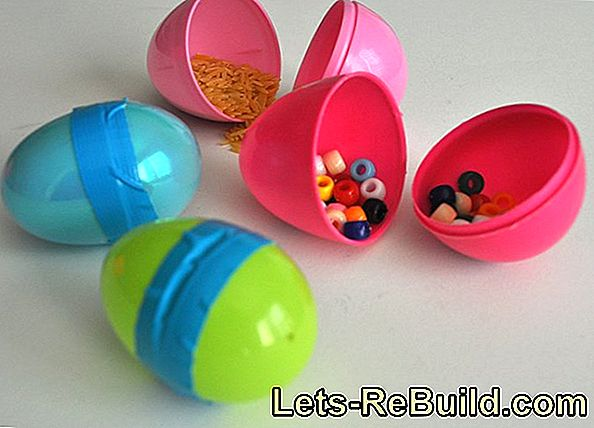 Make Hairpins For Easter Decoration