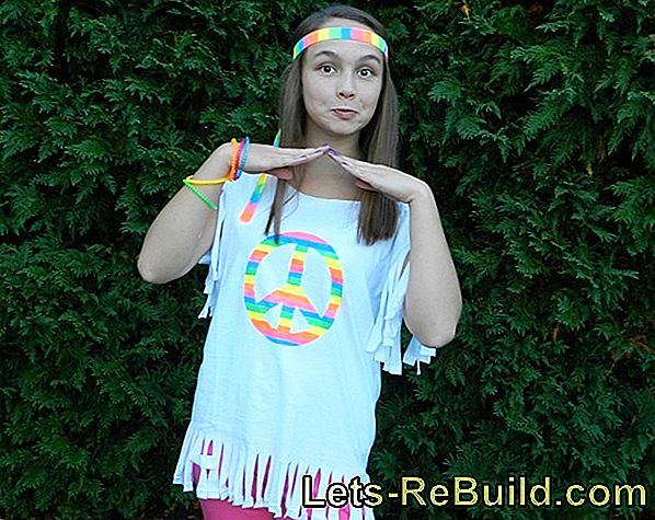 Make Hippie Costume Yourself