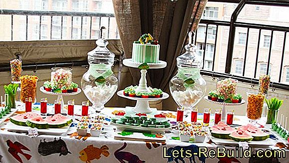 Children's birthday party and birthday party