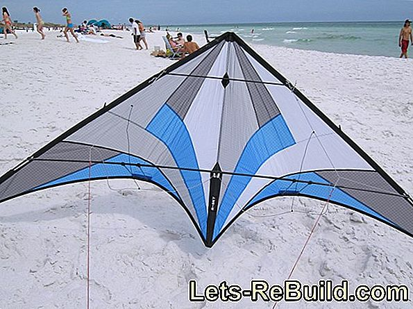 Stunt kite construction manual
