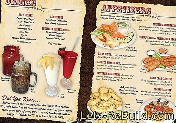 Menu Card Templates: Make Menu Cards Yourself