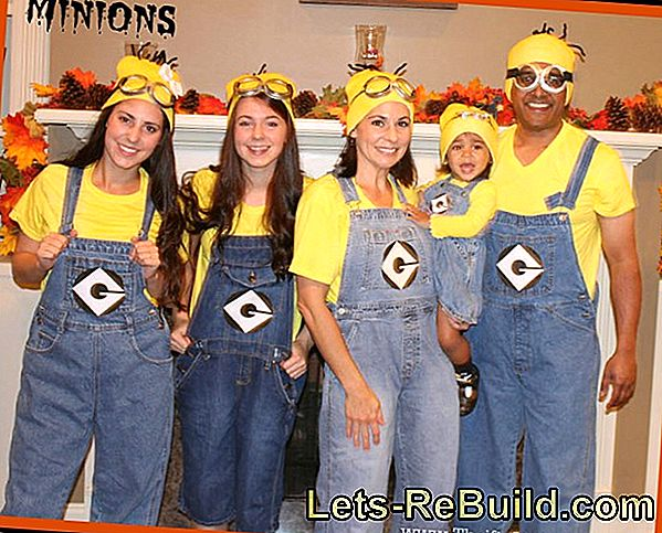 Make Minion Costumes Yourself And Make Minions