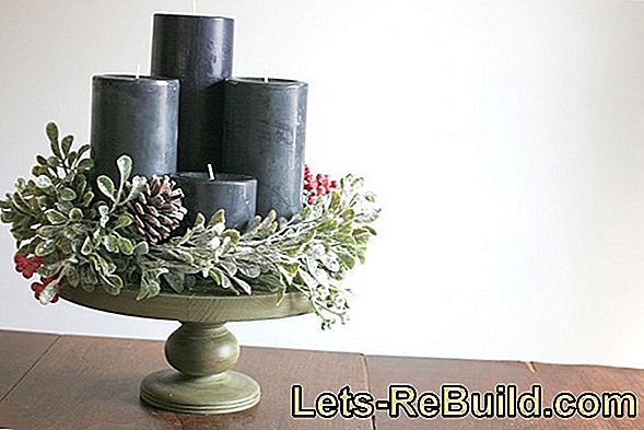 Make Modern Advent Wreath