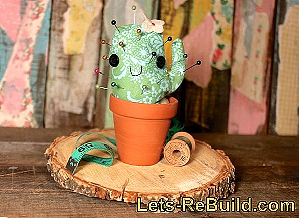 The Needle Cactus - Sew The Cute Pincushion Yourself