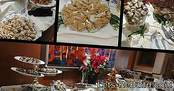New Year'S Eve Buffet - Desserts And Desserts For New Year'S Eve