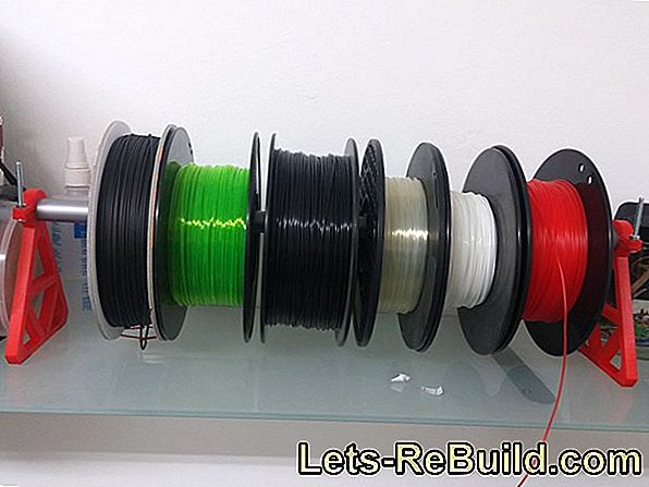 Making A Roll Holder For Spools: Spool Holder For The Wall