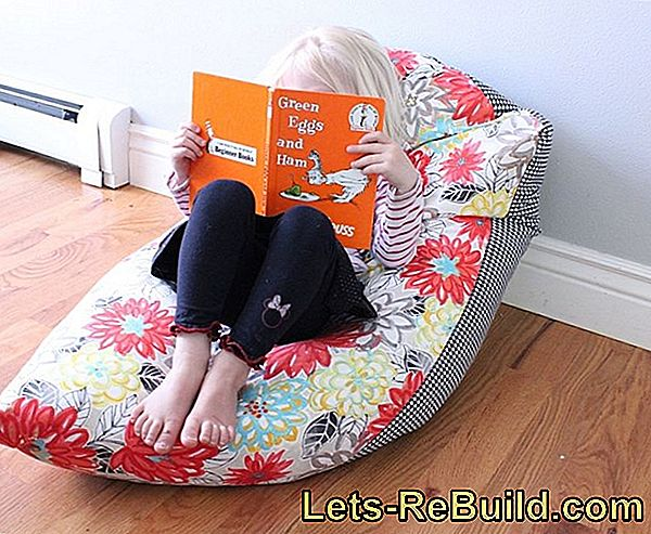 Sew bean bag and seat cushion yourself