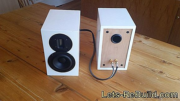 Building loudspeakers - self-made loudspeakers
