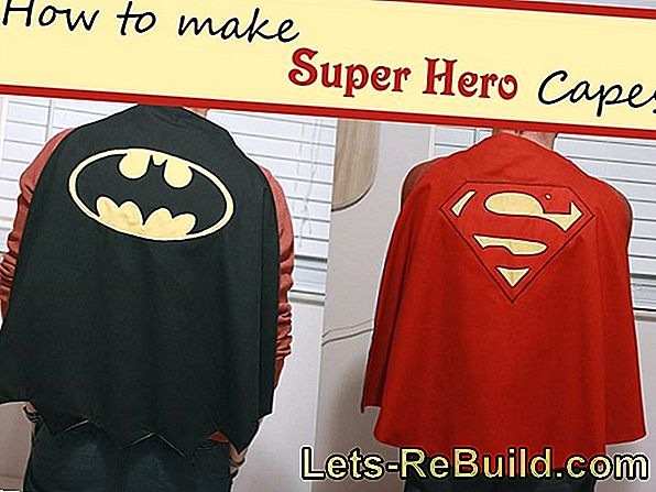 Make Superhero Costume Yourself