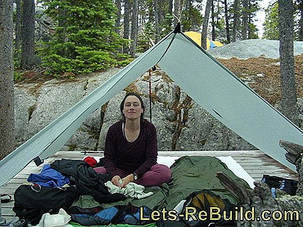 Build tent and tarp yourself