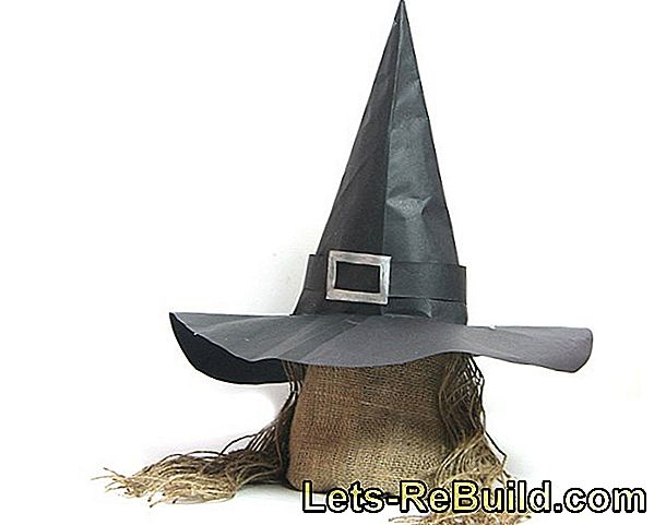 Make witch hat yourself