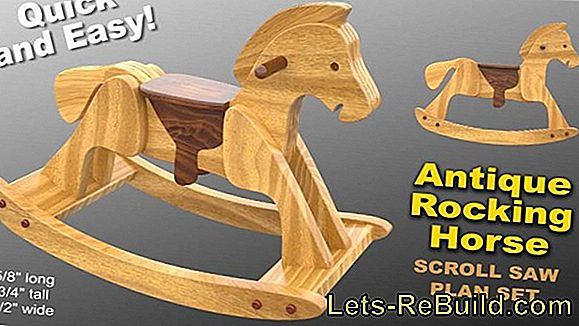 Build A Wooden Horse Yourself